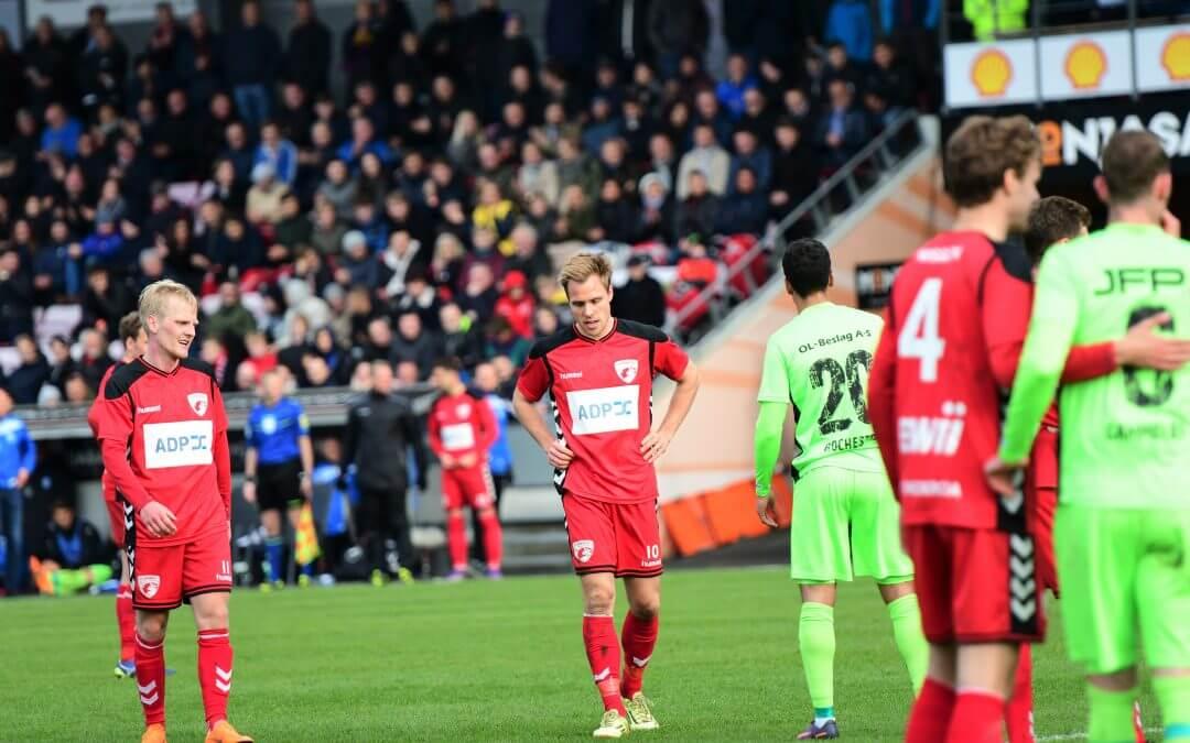 Kampreferat: FC Fredericia 1 – 2 Nykøbing FC