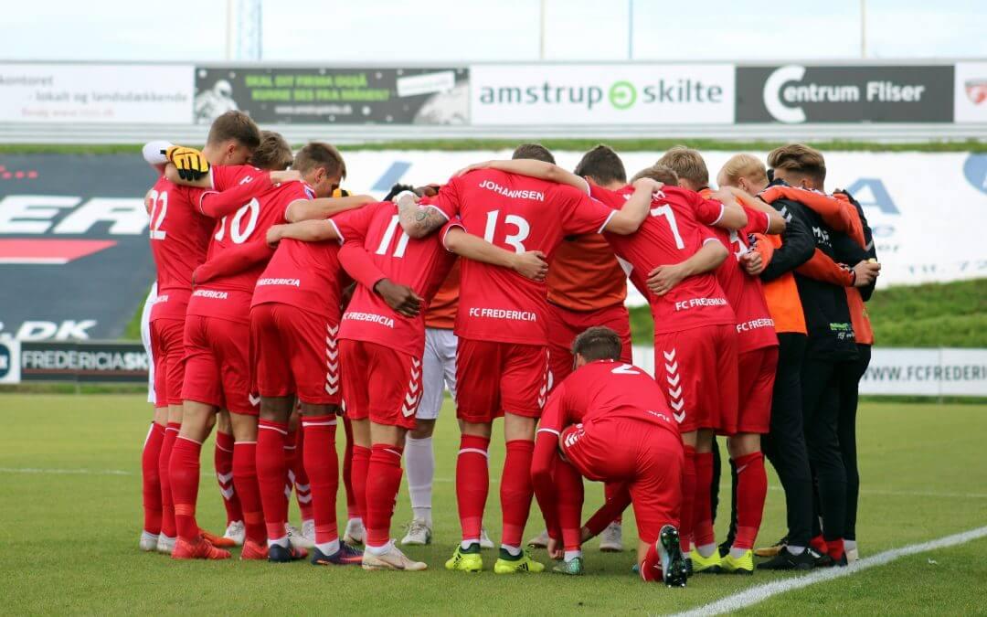 Træningskampe i opstarten for FC Fredericia