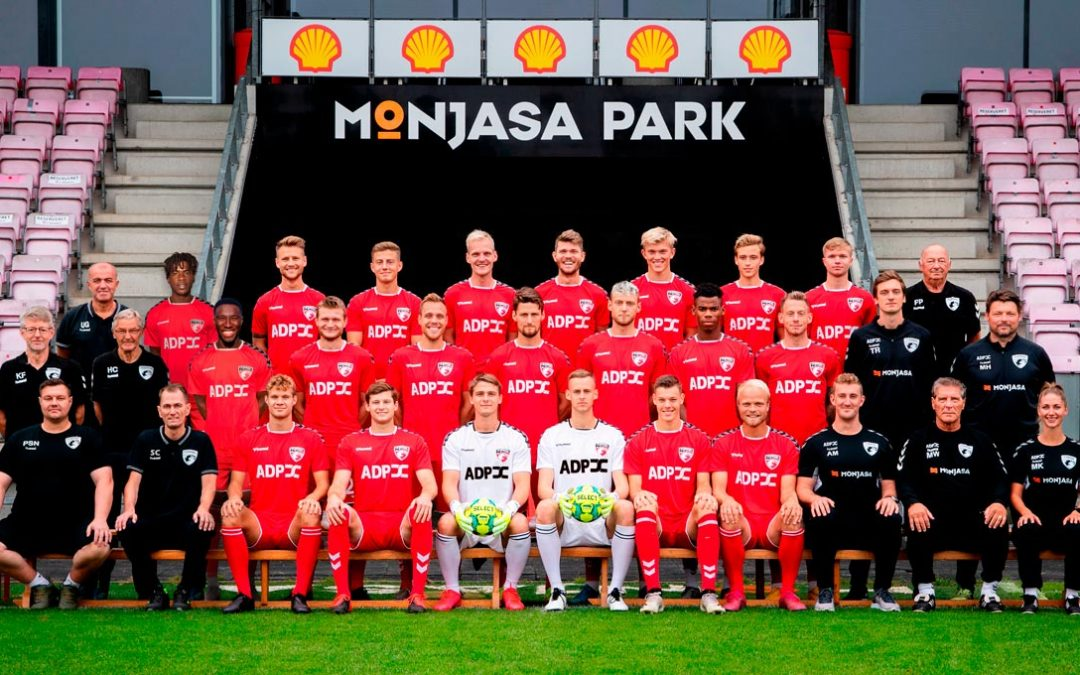 FC Fredericia Holdbillede november 2020