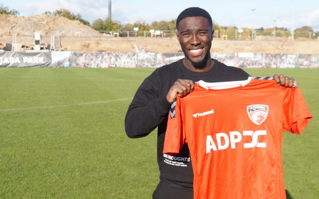 FC Fredericia skriver kontrakt med Justin Shaibu