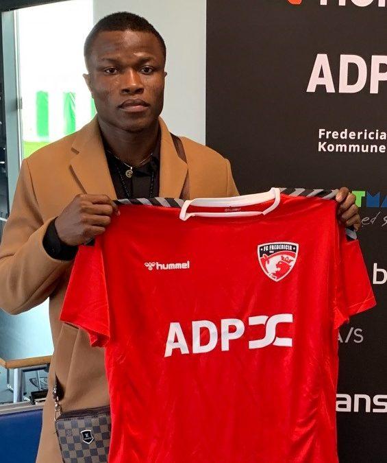 FC Fredericia henter Samson Iyede
