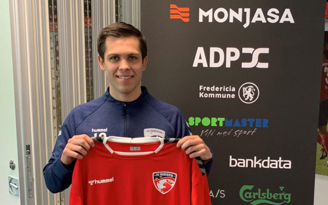 FC Fredericia forstærker sig med Mikkel Basse