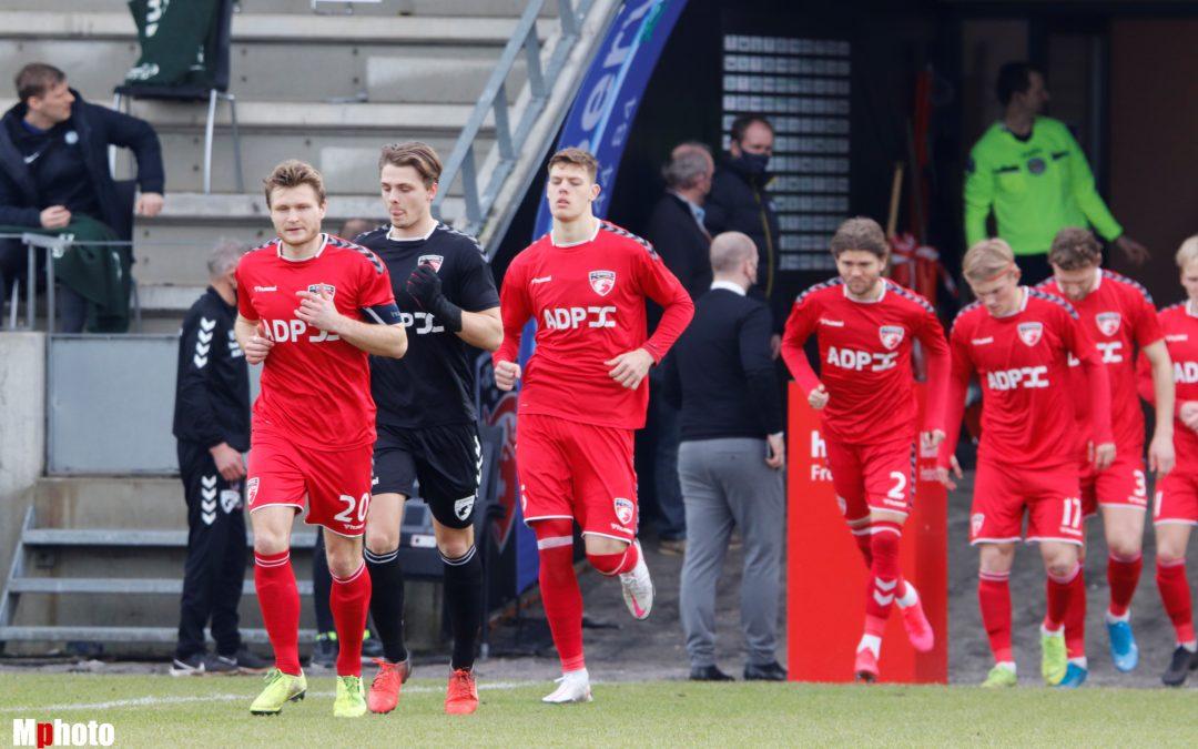 Målene fra sidste opgør mellem FC Fredericia og HB Køge