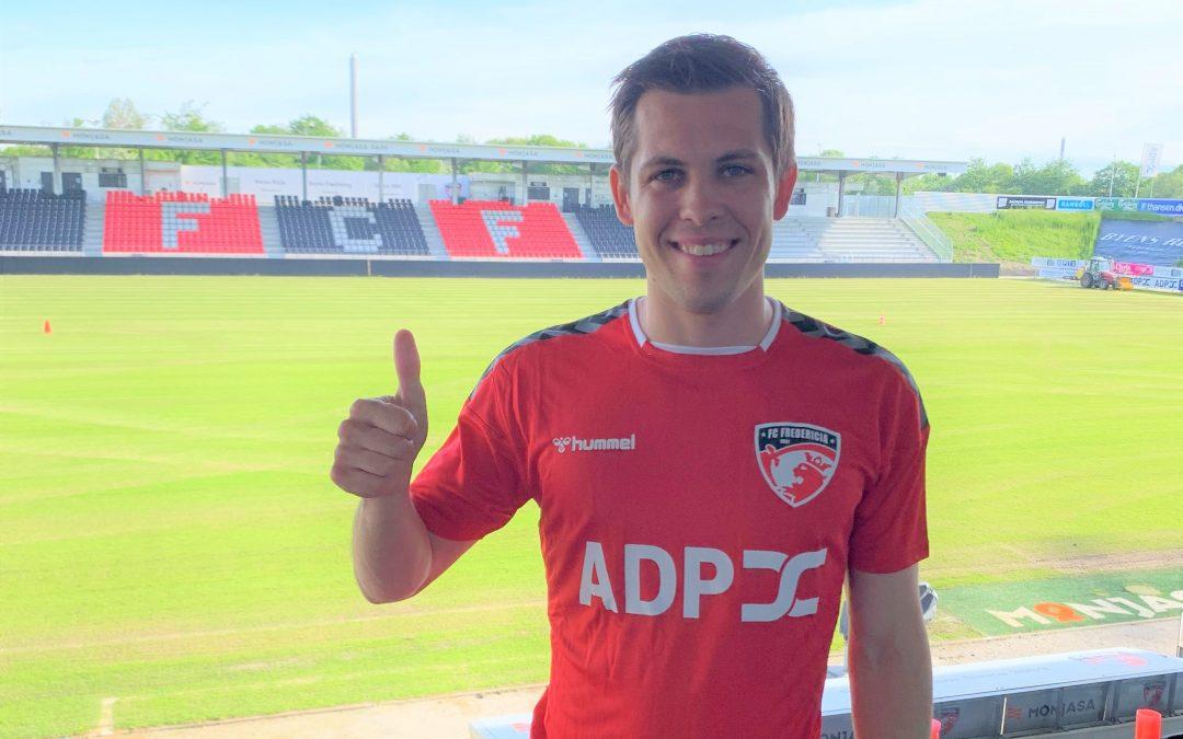 Mikkel Basse fortsætter i FC Fredericia!