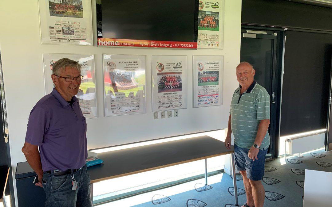 To legender tænker tilbage på tiden i FC Fredericia