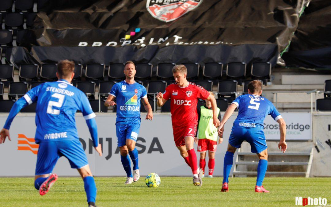 1/8-finale mod Hvidovre IF på Monjasa
